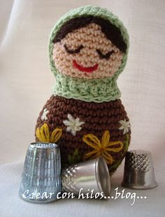 Download Matrioska Amigurumi Pattern (FREE)