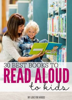 Nothing beats sharing a good book with a little one curled up in your lap, and these books are some of the best. From stories about animals, to those that teach a great lesson, these are the 30 Best Books to Read Aloud to Kids. They'd also make a great DI Little Baby Girl, Little Babies, Baby Boy, Best Books To Read, Good Books, Ya Books, Children's Literature, Read Aloud, Activities For Kids
