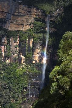 Waterfall in the Blue Mountains, Australia