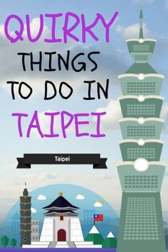 Unusual activities to do in Taipei, Taiwan China Travel, Japan Travel, Taiwan Itinerary, Taipei Travel, Stuff To Do, Things To Do, Travel Advice, Travel Ideas, Travel Tips