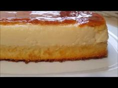 BIZCOFLAN - YouTube Spanish Desserts, Banana Pie, Apple Desserts, Mousse, Cheesecake, Sweets, Bread, Candy, Recipes