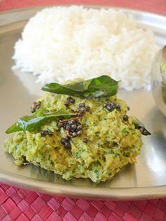 Beerakaya Kothimira Pachadi - Ridge gourd Coriander Chutney - Indian Food Recipes | Andhra Recipes | Indian Dishes Recipes | Sailu's Kitchen