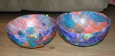 Taming the Goblin: Paper Mache bowls