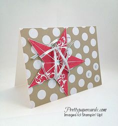 Strawberry Star by Pretty Paper Cards - Cards and Paper Crafts at Splitcoaststampers