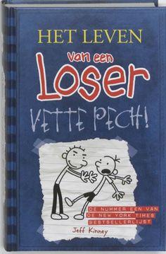 8. Het leven van een loser 2 - Vette Pech! staat op 8 van de Top 100 meest uitgeleende boeken van 2015.