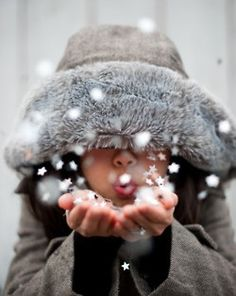 writing prompt-what happens when the snow child blows magic snow on you?