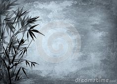 Background with bamboo.Japanese style