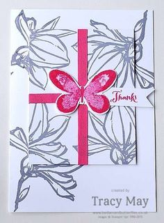 Stampin' Up! Remarkably You & Watercolour Wings Tracy May #GDP010