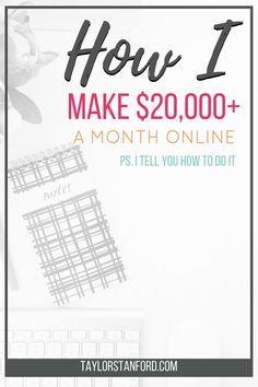 How I Made $20000 Blogging #howtostartablog #makemoneyblogging #waystomakemoney