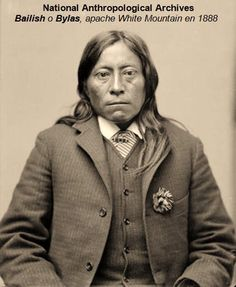 Bailish o Bylas, apache White Mountain en 1888