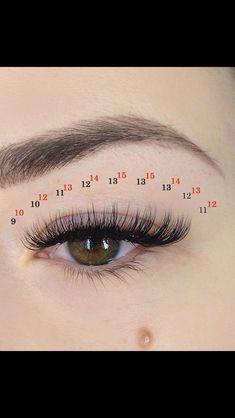 eyelash extensions on long lashes Schönheitssalon Design, Lash Conditioner, Eyelash Extensions Salons, Eyelash Sets, Best Lashes, False Lashes, Long Lashes, Mink Eyelashes, Eye Makeup