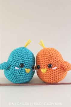 Lovebirds Amigurumi Pattern
