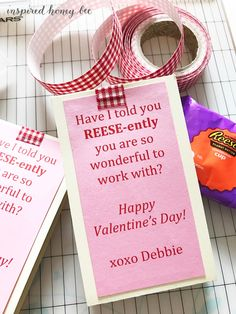 Valentine's Day treats cards gifts for coworkers neutral DIY