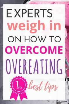 You have tried to figure out how to overcome eating, I know you have. If diet books and food plans have failed you, you are not alone. In this post, you will find the BEST tips to stop overeating from health and fitness experts who know how to get their clients results! via @www.pinterest.com/GraceFilledPlate