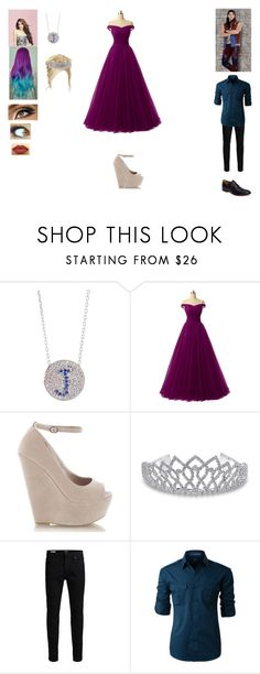 """""""3 Weeks Later"""" by allyssaannayoung13-clearwater ❤ liked on Polyvore featuring Emma Watson, LASplash, Bling Jewelry, Jack & Jones, LE3NO, Johnston & Murphy and disneydescendants"""