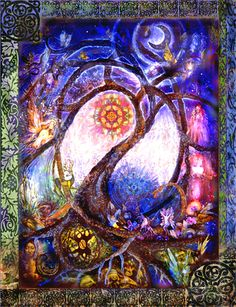 The Visionary Art of Willow Arlenea - Celtic Fairy Tree Magic