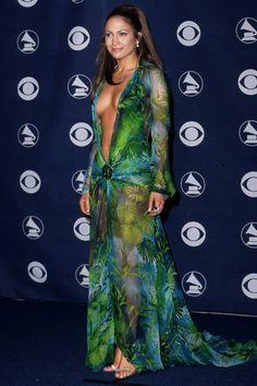Jennifer Lopez's best looks ever: the legendary Versace dress