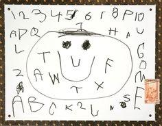 Hero's Alphabet Art    むすこが描いてくれた傑作品!  後に、スタンプにまでなった一番だいすきな作品!