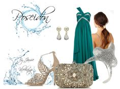 A formal look inspired by the greek god: Poseidon. Fans of Greek Mythology or the Percy Jackson series would like this look