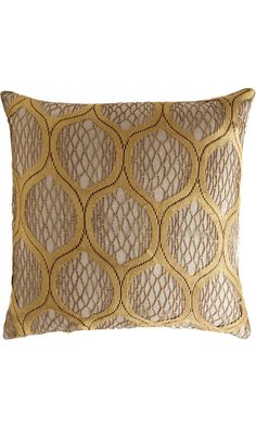 gorgeous dransfield & ross gold pillows