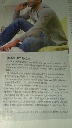 Phone hazards!!