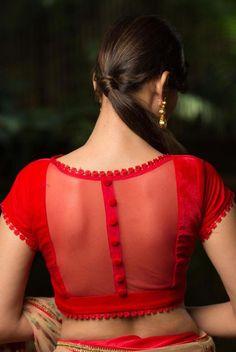 Stylish floral blouse saree Find more info on #embroiderysareeblouse #indiansareefashion #sareeblouses - #blousedesignswedding #blousedesignsweddingSaree #blousedesignsweddingSilk #blousedesignsweddingSimple