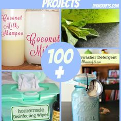 100+ Natural Homemade DIY Projects {Collection} - DIY  Crafts