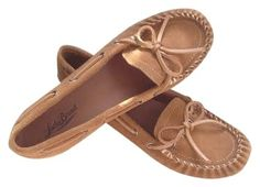 Lucky Brand Leather Tuscany Brown Moccasins