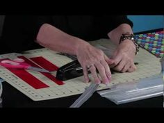 How to make a Duck Tape zippered bag, from the book 'Go Crazy with Duct Tape'