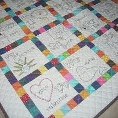 Now I Know My ABCs Baby Quilt Pattern by OhSewStephanie on Etsy