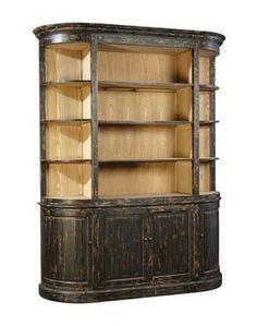 Furniture Classics Black Fir Display Case 74.5wx94.5t