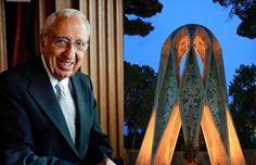#Iran #Iranlandscape #birthday Hooshang Seyhoun was an Iranian architect, sculptor, painter, scholar and professor.