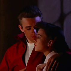 James Dean and Natalie Wood, Rebel without a Cause