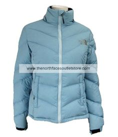 The North Face Women Nuptse Goose Down Jacket(Blue)