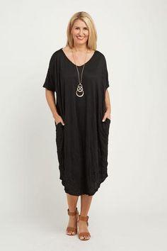 Crystal Dress-Black