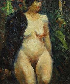 Nude by George Benjamin Luks