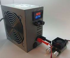 1-30V Benchtop Power Supply in ATX PSU House