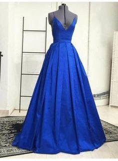USD$90.00 - Elegant V-Neck Long Evening Dress HT004 - www.27dress.com