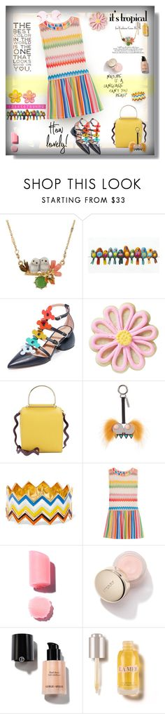 """The Best Color 🍀🌟🌺💙💋"" by selmendonca ❤ liked on Polyvore featuring Les Néréides, Anya Hindmarch, Wilton, Roksanda, Fendi, Missoni, Missoni Mare and Karen Walker"