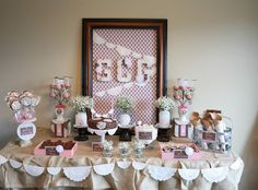 Gluten free sweets table