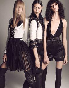 Vogue Japão Abril 2015 | Daria Strokous, Liu Wen + Mais por Luigi + Iango [Fashion]
