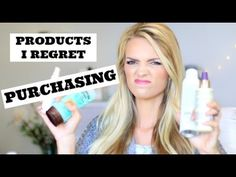Products I Regret Purchasing