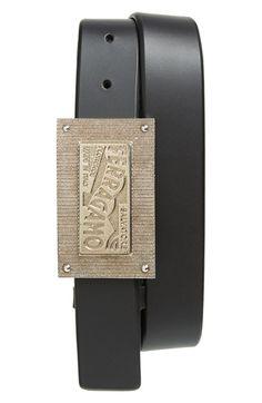 Men's Salvatore Ferragamo Signature Plaque Belt