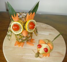 Owl and Rats Fruit! :)