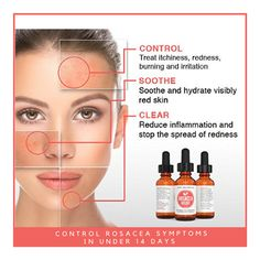 Our Premium Rosacea Relief serum is made to target Rosacea only. This is not a one-serum-fix-all type of product as these can cause questionable results.