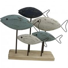 Highland Dunes Howie Wooden Fish on Base Figurine Fisher, Wood Fish, Fish Crafts, Wood Burning Patterns, Driftwood Art, Driftwood Ideas, Decorative Pillow Covers, Coastal Decor, Decoration