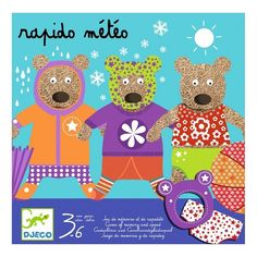 Rapido Meteo – De Speelbode Magic Forest, Board Games, Illustration, How To Memorize Things, Teddy Bear, Kids Rugs, Memories, Toys, Children