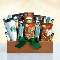 Starbucks Get Up and Go Gift Basket