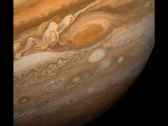 Planets give off certain radio frequencies which creates a unique sound for each planet. This is Jupiter.