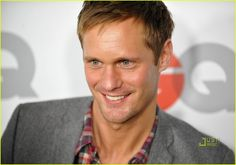 Oh Alexander Skarsgard. Please play Christian Grey. My life will be complete.